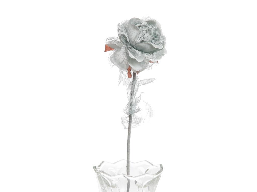 Rosse Polyester Yapay Çiçek 65 Cm Açık Mavi