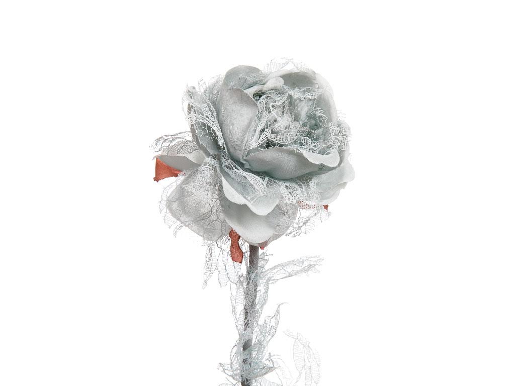 Rosse Polyester Yapay Çıçek 65 Cm Açık Mavi