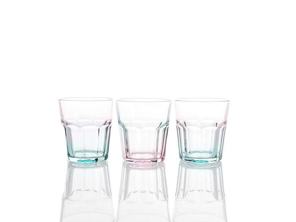 Melody Cam 3'lü Meşrubat Bardağı 265 Cc Renkli