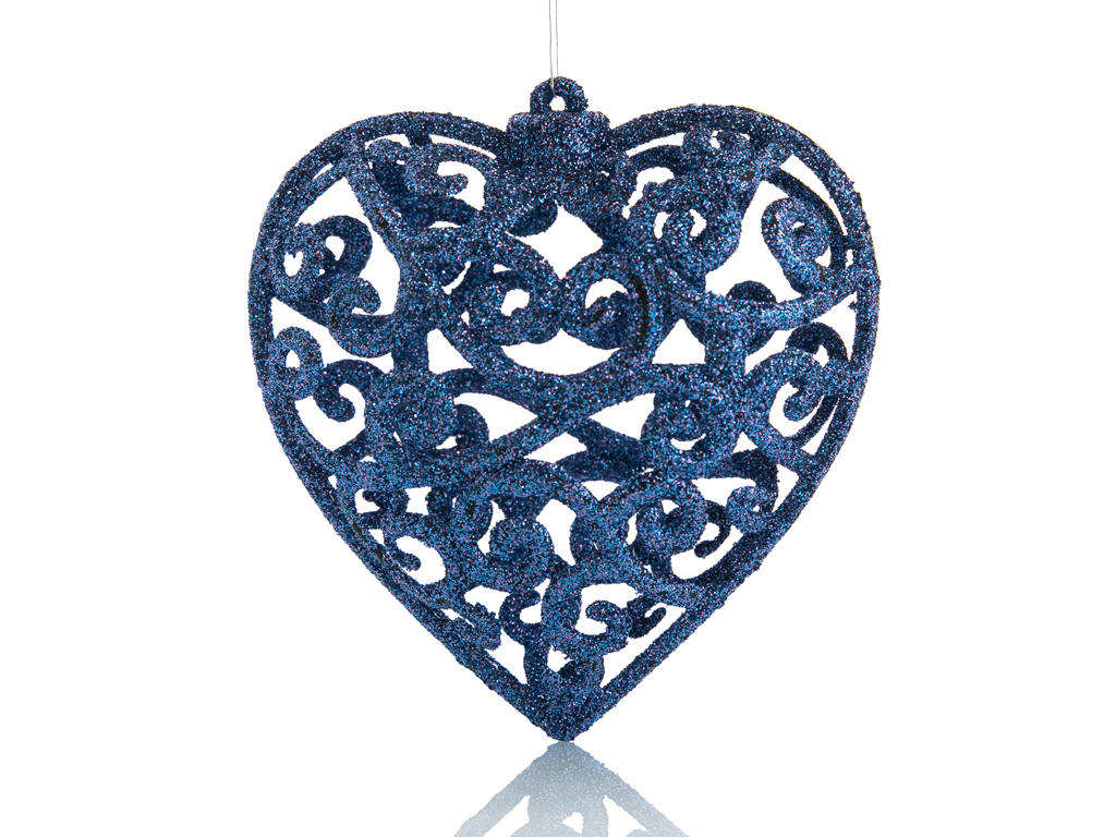 Heart Ps 3'lü Askılı Aksesuar 9.2x4.6x26 Cm Mavi