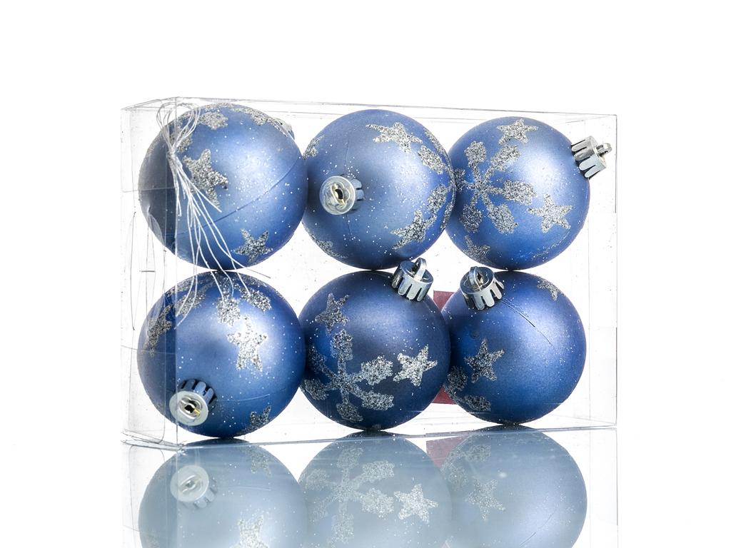 Snowy Ps 6'lı Askılı Aksesuar 11.6x5.8x17.4 Cm Mavi