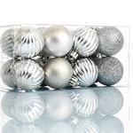 Bony Ps 16'lı Askılı Aksesuar 7.6x7.6x15.2 Cm Gümüş