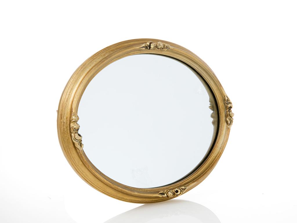 Lamar Polyresin Ayna 28x4x33.6 Gold