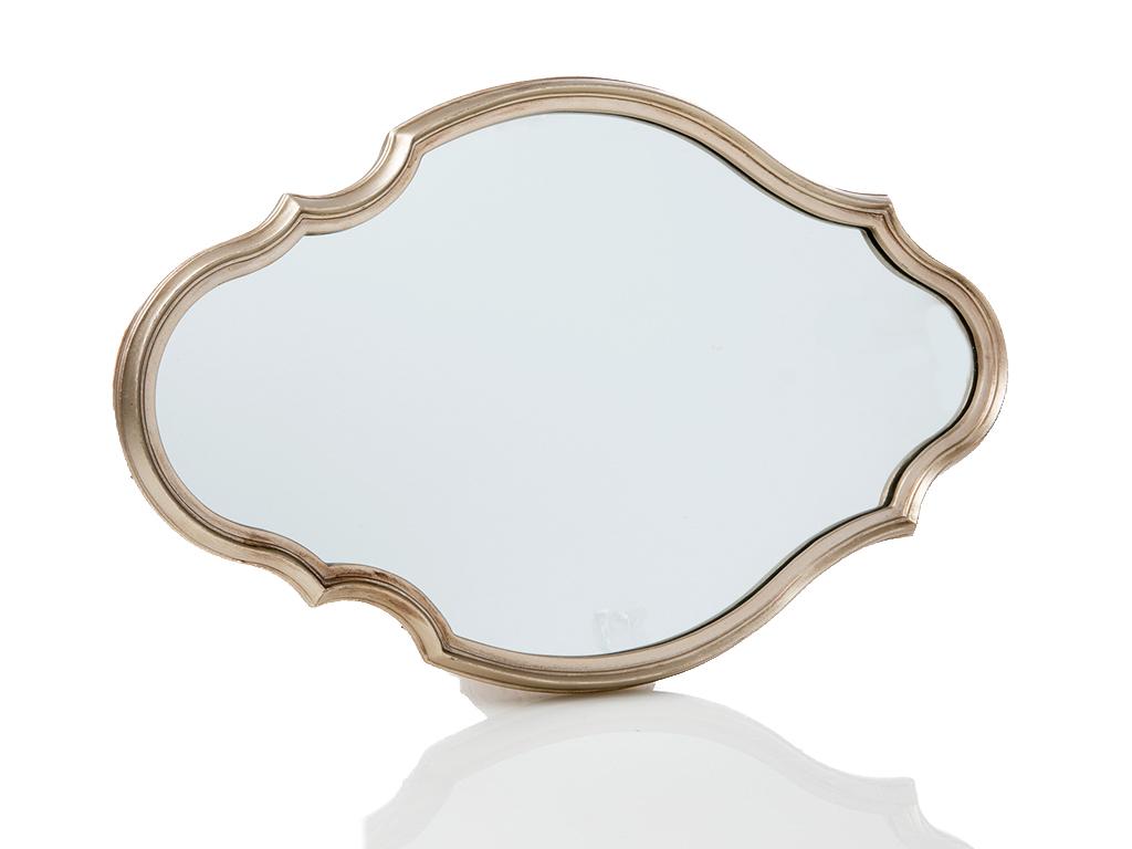 Lisa Polyresin Ayna 30.5x2.4x47.5 Gümüş