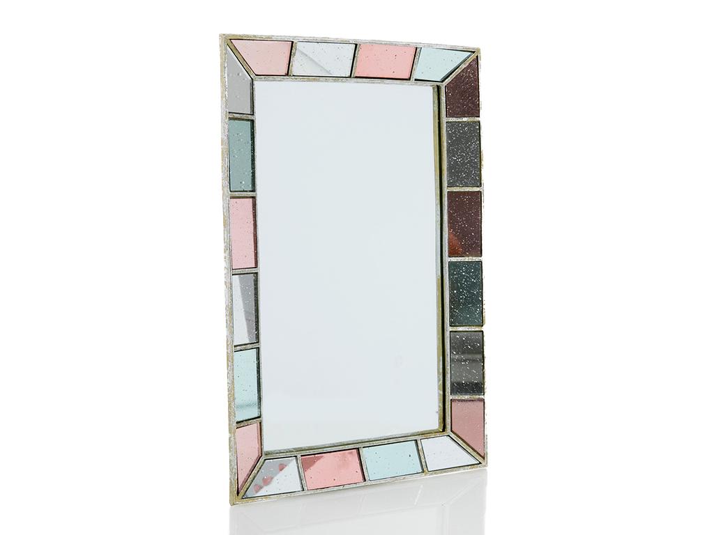 Diana Polyresin Ayna 36.3x2.7x23.5 Cm Renkli