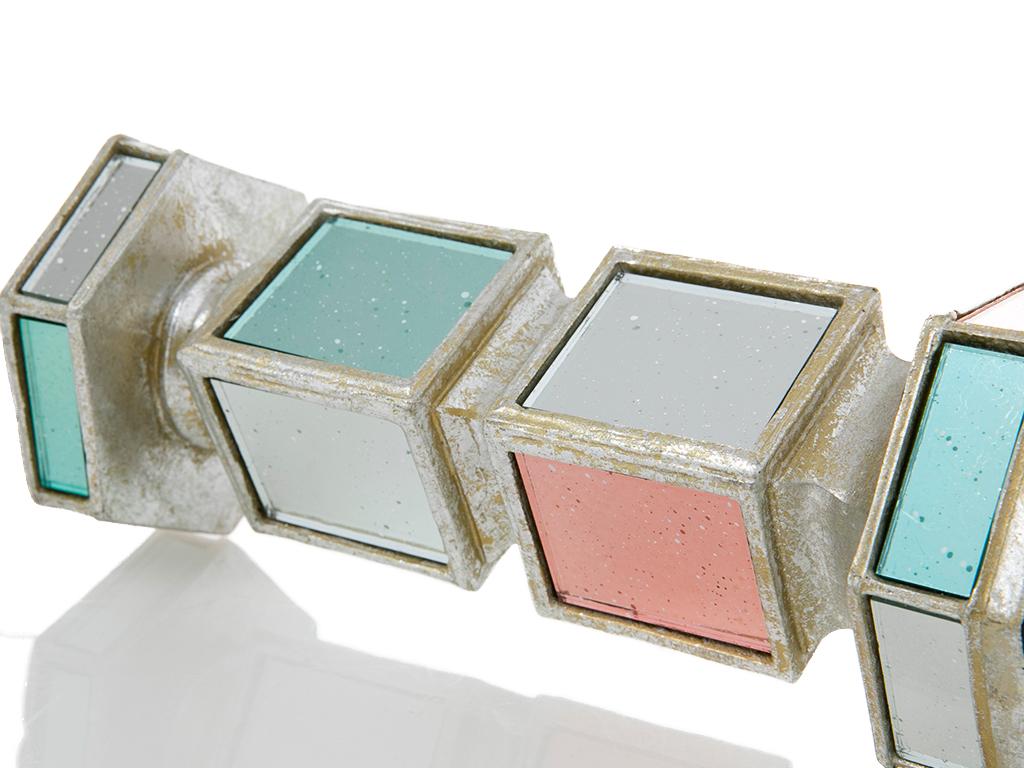 Diana Polyresin Şamdan 10x8.7x21.8 Cm Renkli