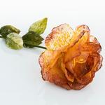 Miranda Kumaş Yapay Çiçek 75 Cm Pembe - Turuncu