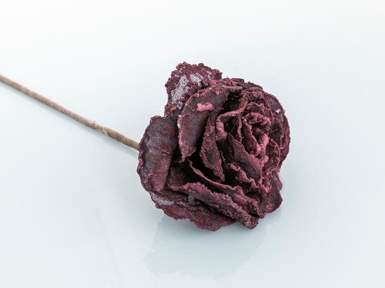 Helen Kumaş Yapay Çiçek 61 Cm Mürdüm