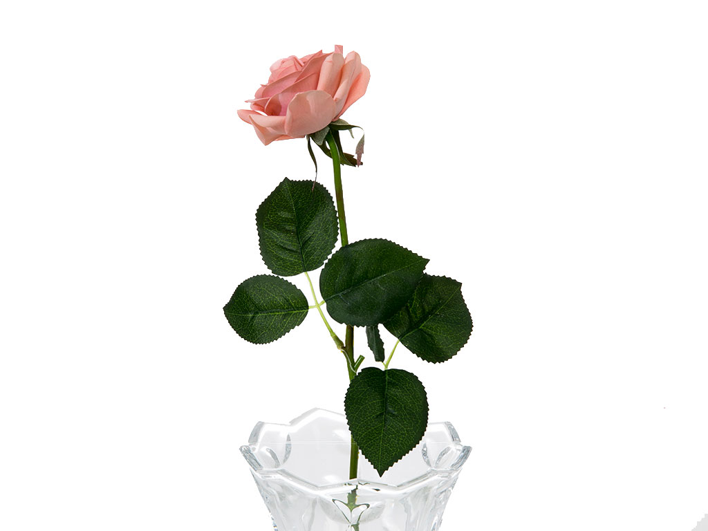 Glam Rose Yapay Çiçek 42 Cm Pembe