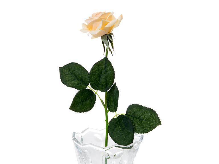 Glam Rose Yapay Çiçek 42 Cm Bej