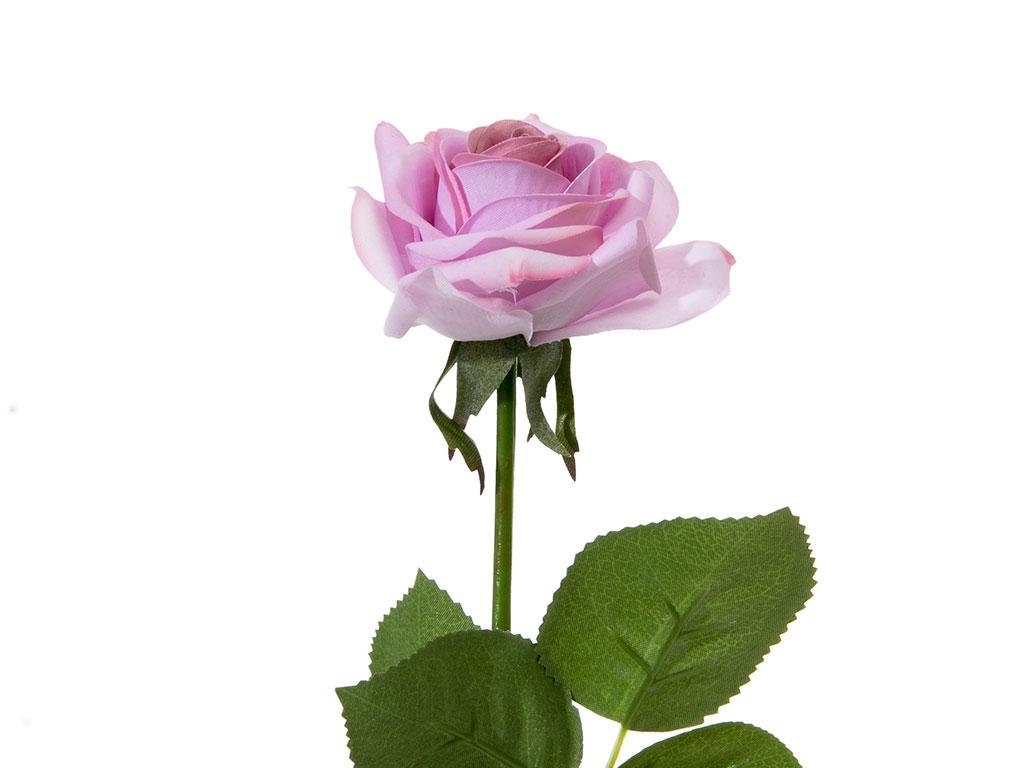 Glam Rose Yapay Çıçek 42 Cm Açık Mor