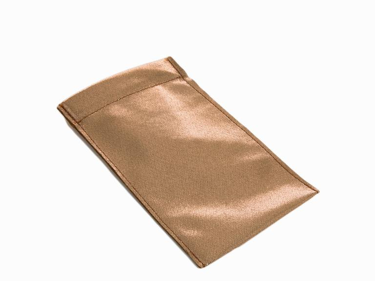 Shiny Gözlük Kılıfı 19x10,5 Cm Gold
