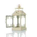 Rosery Ferforje Fener 14x14x33 Cm Beyaz