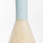 Hugla Vazo 8x8x18,5 Cm Mavi