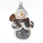 Snowman Mum 8x6x13 Cm Renkli