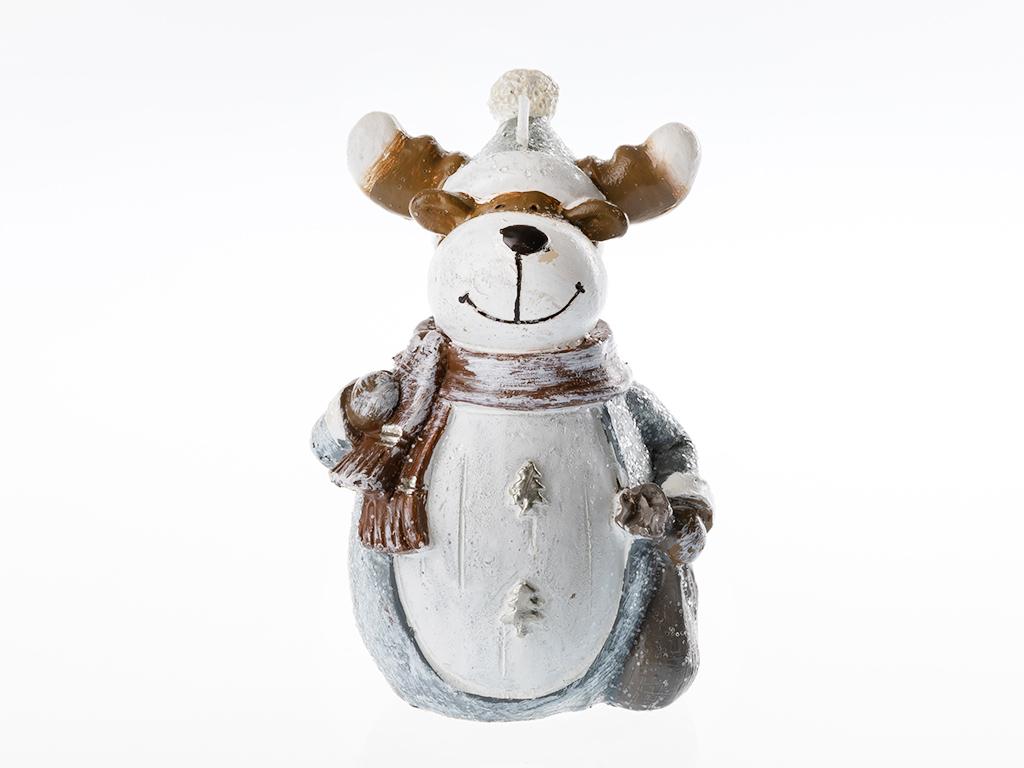 Reindeer Mum 8x8x13 Cm Renkli