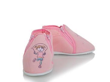 Girl Pamuklu Kız Çocuk Ev Ayakkabısı 6-7 Yaş Pembe