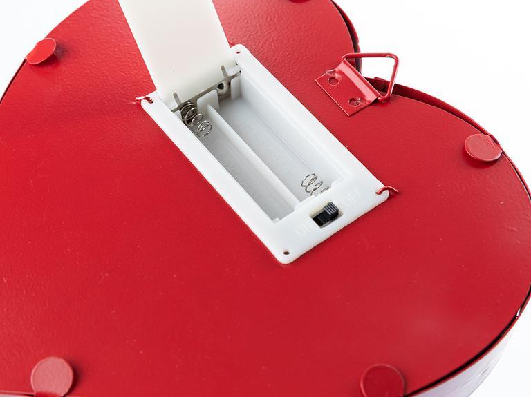 Enjoy Led Askılı Aksesuar 16,5x3,8x16,5 Cm Kırmızı