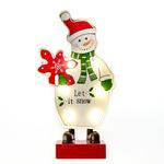 Snowman Led Bıblo 10x4x18,5 Cm Renkli