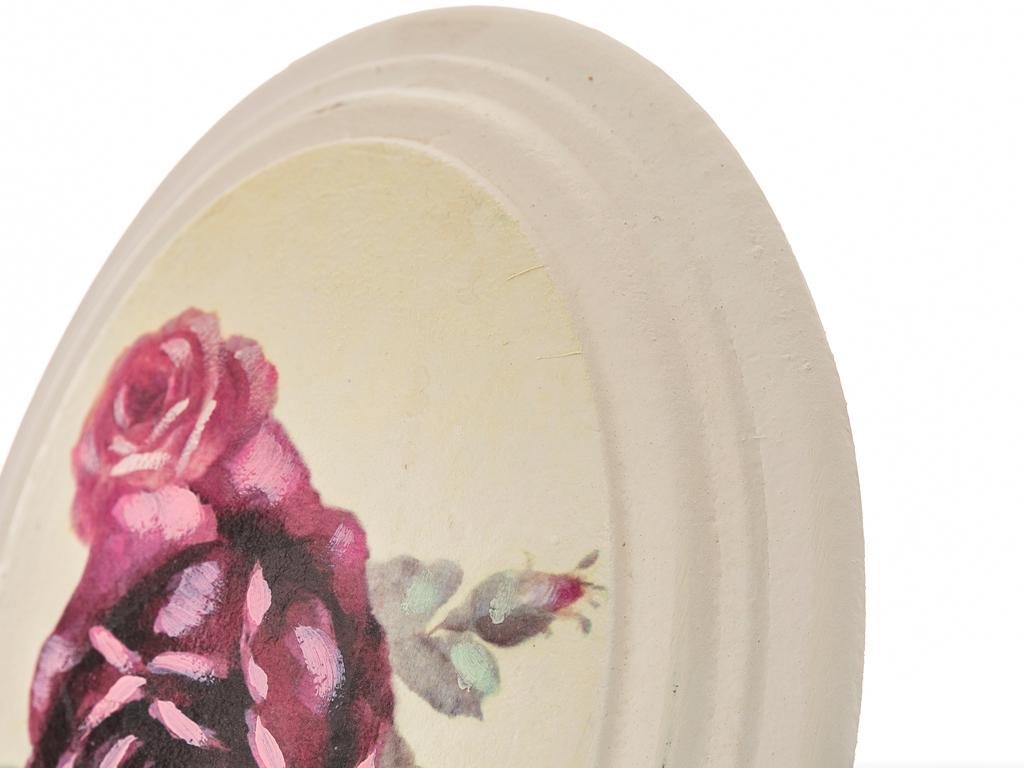 Majestic Rose Tablo 17x22x4 Cm Renkli