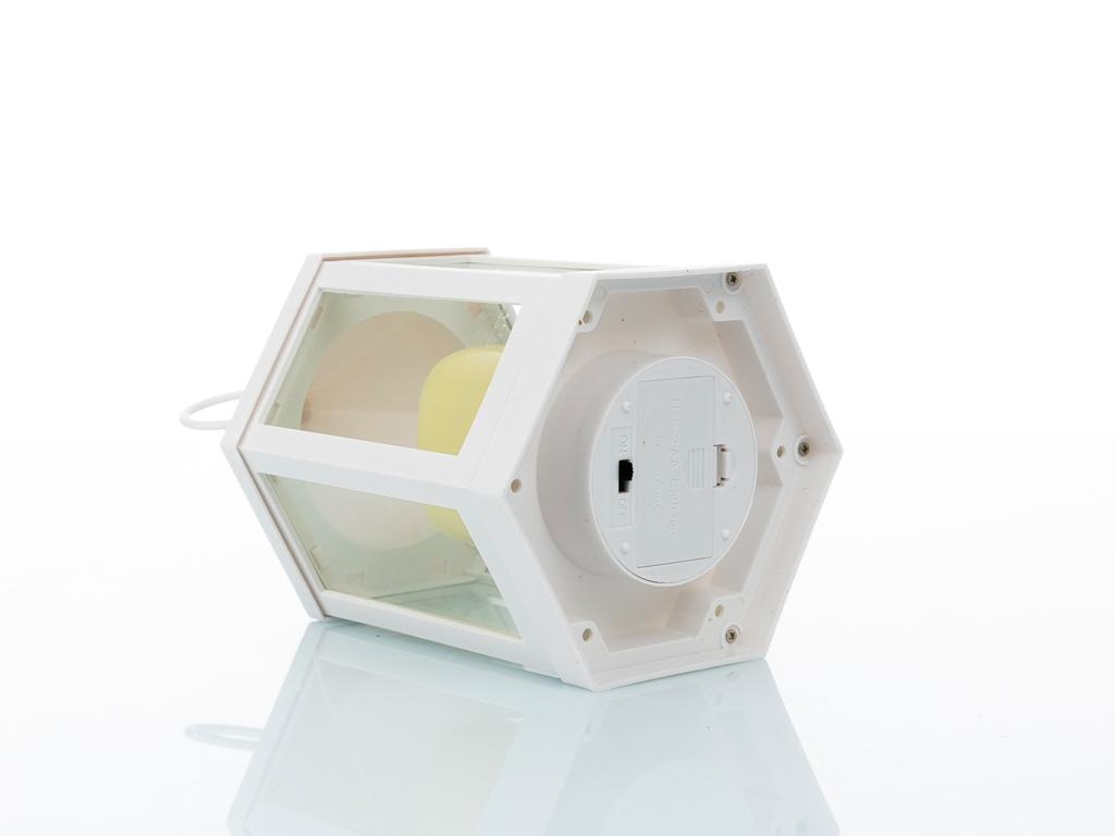 Hope Plastik-metal Fener 14x14x22,5 Cm Beyaz
