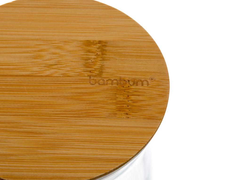 Olla Bambu Orta Saklama Kabı 800 Ml Bej