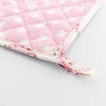 Rose Passion Baskılı Tutaç 20x20 Cm Beyaz - Pembe