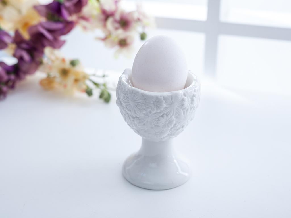 Egg Yumurtalık 6,7x6,7x9,5 Cm Beyaz