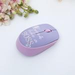 Boss Desenli Desenli Mouse 10 Cm Lila