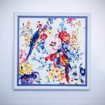 Parrot Paradise Tablo 39x39 Cm Mix