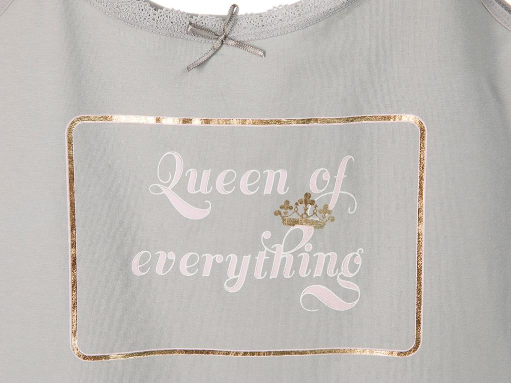 Golden Life Pamuk Bayan İç Çamaşır Takımı M Gri