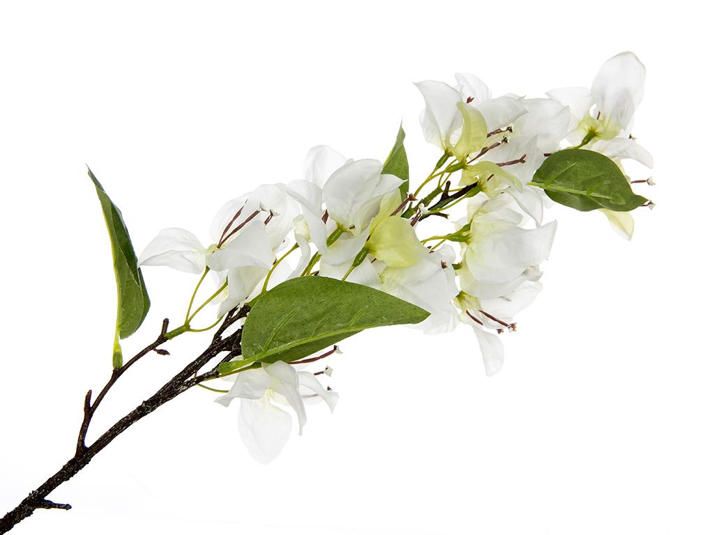 Bougainvillea Yapay Çıçek 76 Cm Beyaz