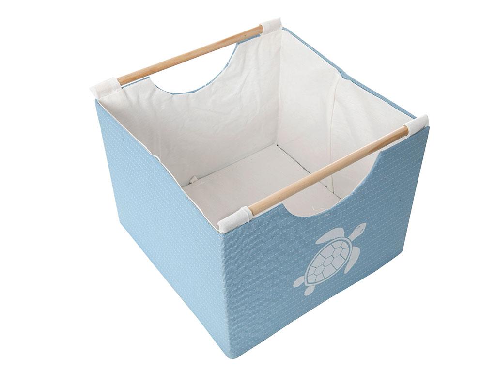 Caretta Polyester 32x32x26 Cm Mavi