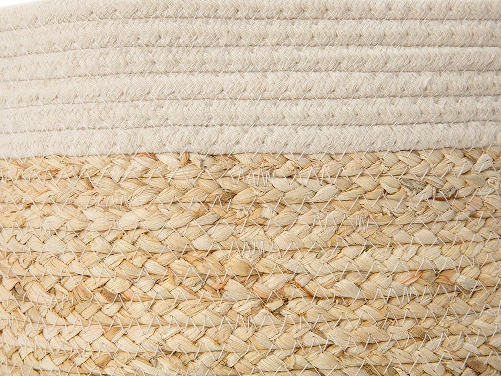 Natural Polyester 32x29 Cm Beyaz