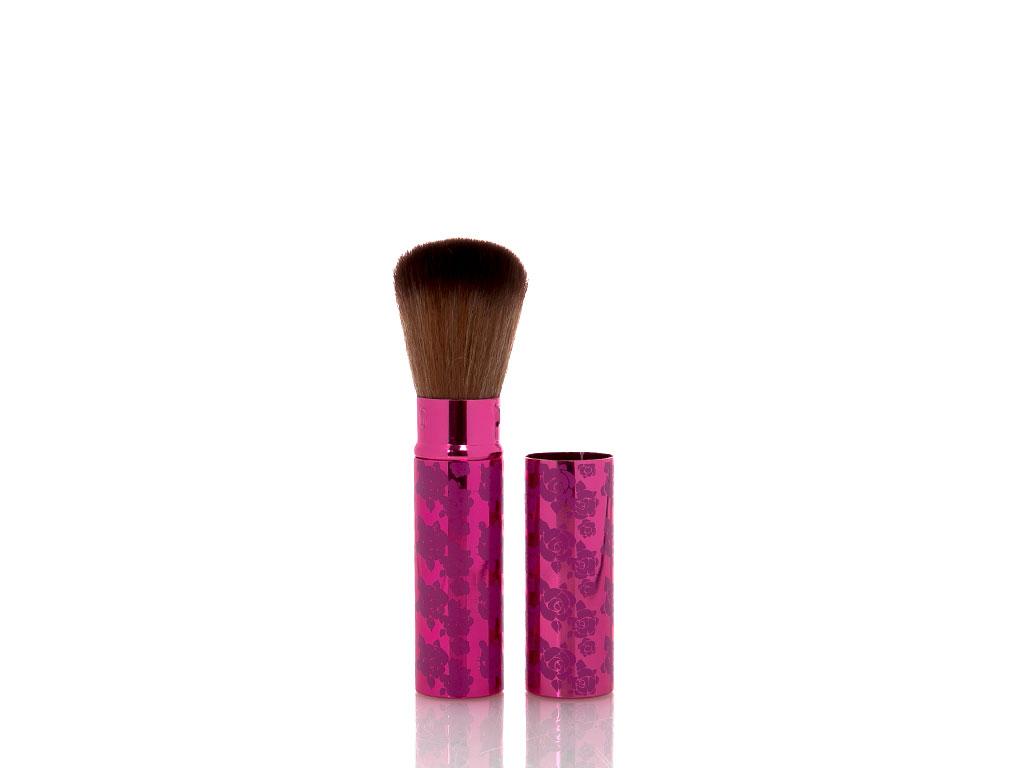 Bloom Kapaklı Makyaj Fırçası 16x5x2,5 Cm Pembe