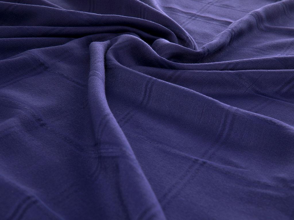 Cashmere Kaşmir Şal 75x190 Cm Mavi