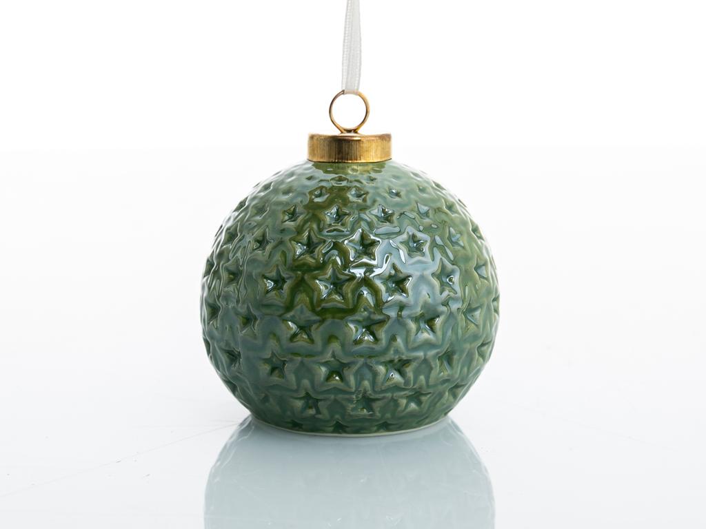 Jingle Stoneware Askılı Aksesuar 8x8x7,3 Cm Mavi