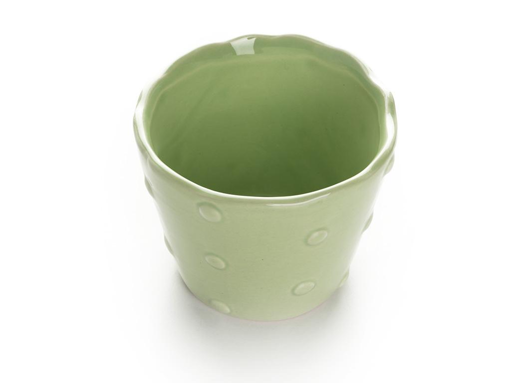 Cute Saksı 10,5x10,5x8,5 Cm Yeşil