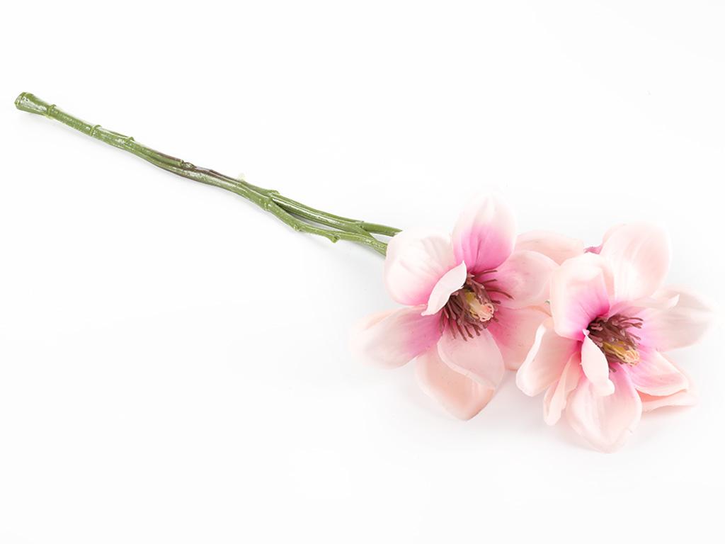 Magnolia Yapay Çıçek 41 Cm Pembe