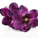 Magnolia Yapay Çıçek 41 Cm Mor