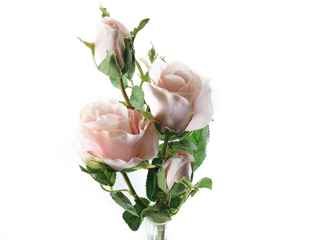 Rose Yapay Çıçek 74 Cm Pembe