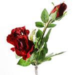 Rose Yapay Çiçek 74 Cm Bordo