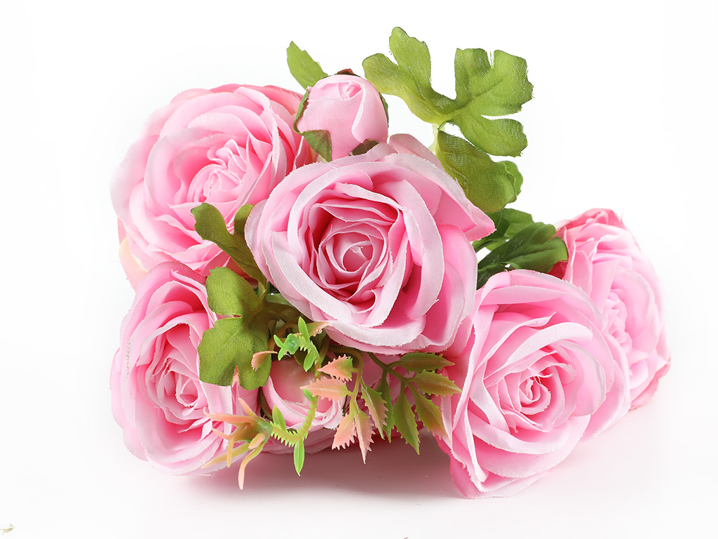 Camellia Yapay Çıçek 46 Cm Pembe