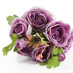 Camellia Yapay Çıçek 46 Cm Mor