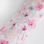 Sakura Joy Pamuklu Çift Kişilik Nevresım 200x220 Cm Gül Kurusu