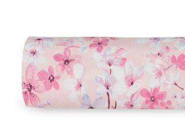 Sakura Joy Pamuklu Tek Kişilik Nevresim 160x220 Cm Gül Kurusu