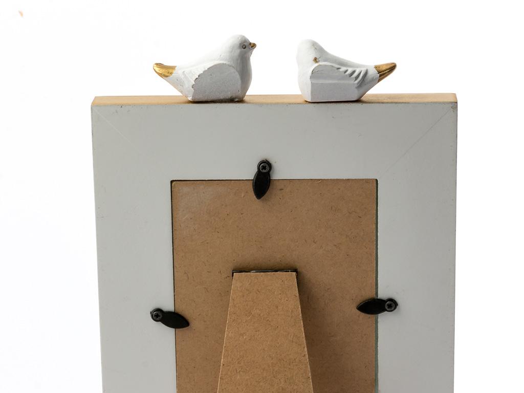 Birdy Mdf Çerçeve 1,8x15,5x22 Cm Beyaz