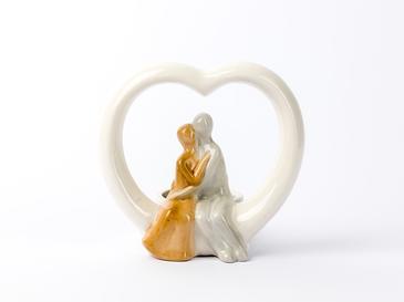 Lovely Porselen Mumluk 11,6x8,8x11,3 Cm Renkli