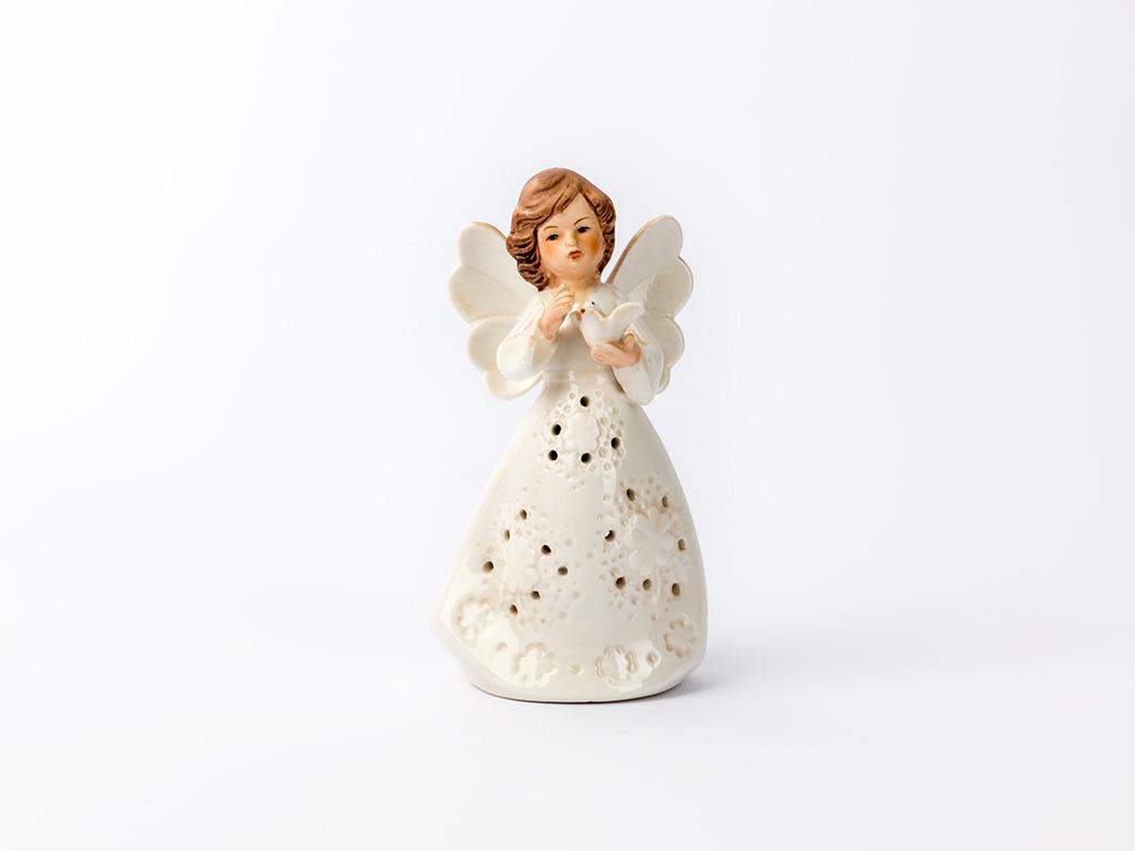 Kind Porselen Bıblo 6,4x4,6x11,6 Cm Beyaz