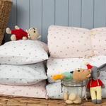 Astro Pamuklu Bebe Yastık Kılıfı 35x45 Cm Beyaz
